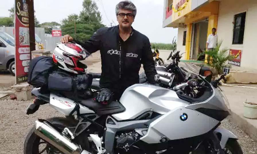 Thala Ajith Bike Mechanic at early stage