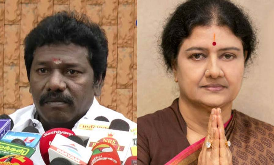 I am Sasikala Supporter says MLA Karunas