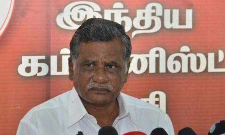 Mutharasan accusation