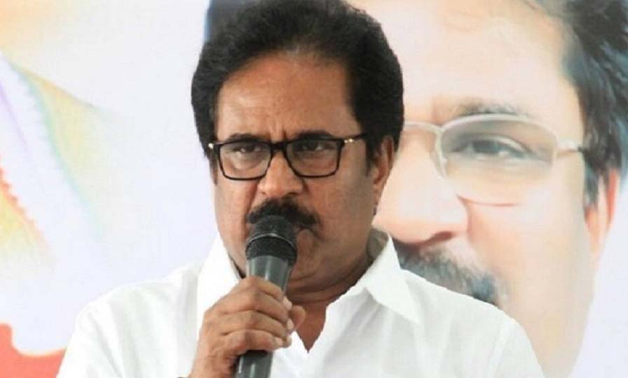 bjp forcing aiadmk says thirunavukkarasar