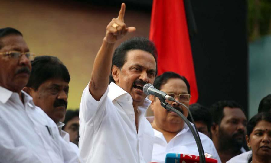 MK Stalin condemns Modi