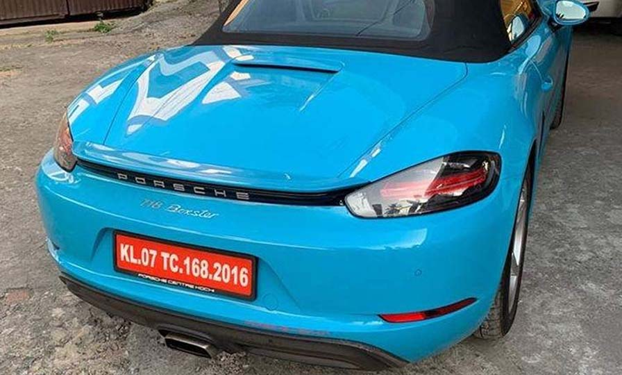 Kerala man paid Rs 31 lakh for a number plate