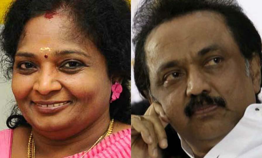 MK Stalin - Tamilisai Soundararajan