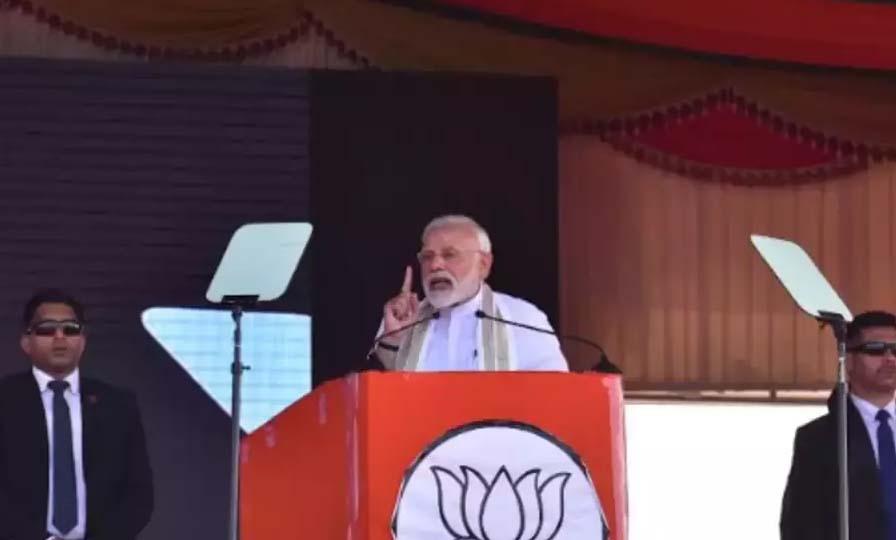PM Modi questions about Congress mega alliances