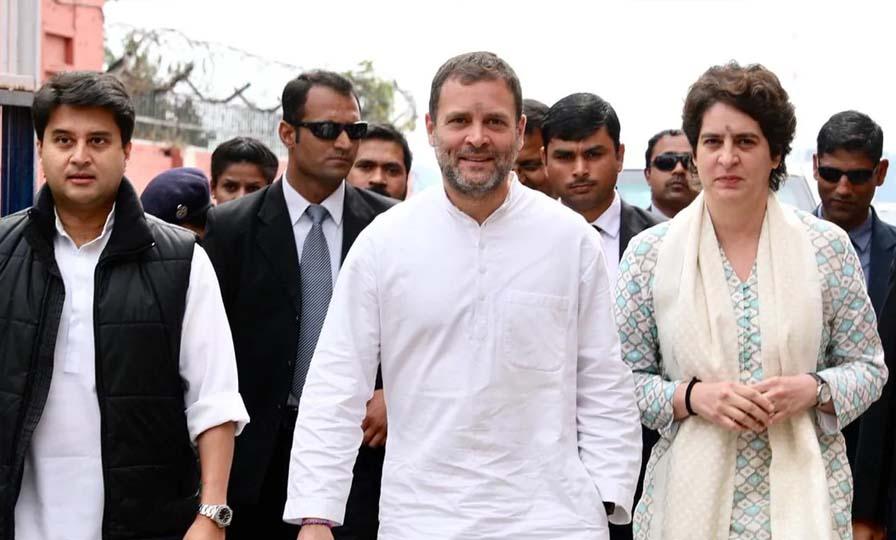 Priyanka Gandhi Rally in Uttar Pradesh
