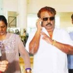 Vijayakanth returned to Chennai