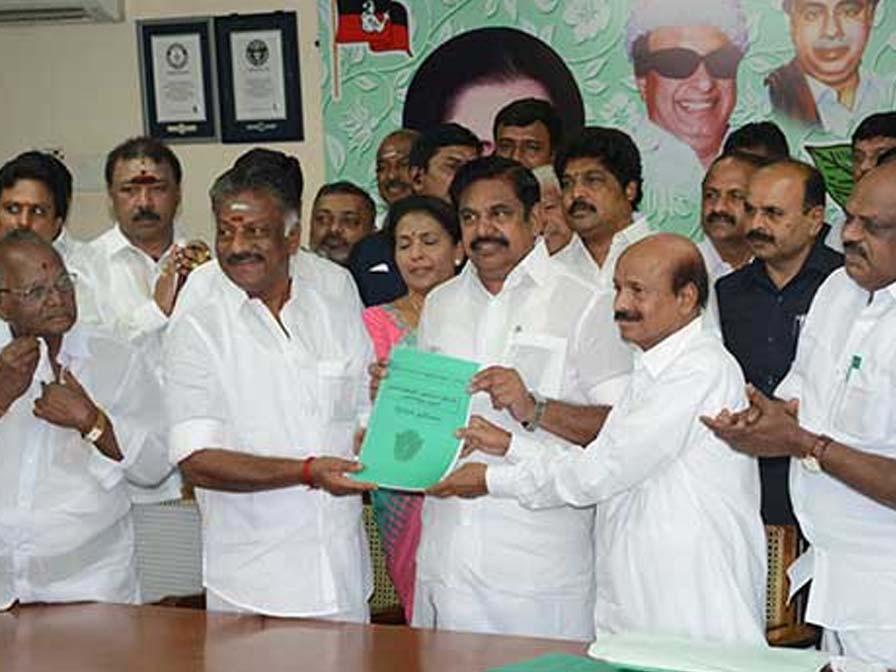 ADMK list of lok sabha constituencies