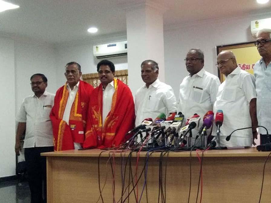 CPIM-PR-Natarajan-S-Venkatesan-Madurai-Kovai-Constituencies