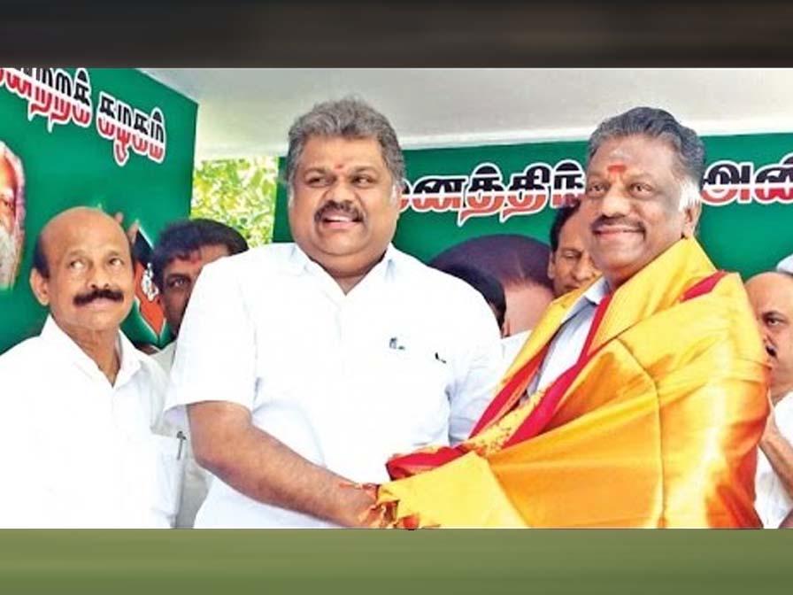 AIADMK-Tamil Maanila Congress Alliances