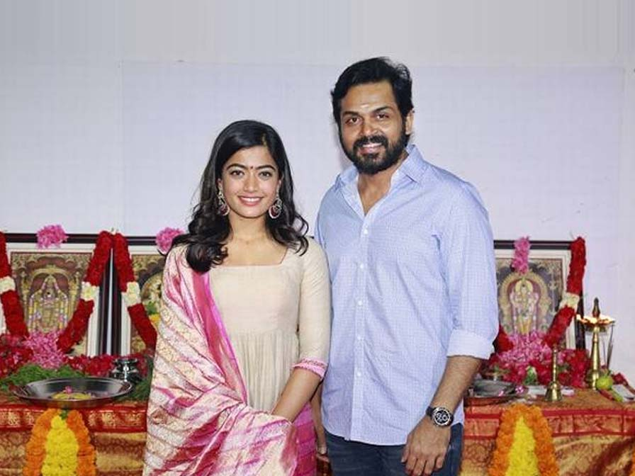 Karthi 19 movie pooja